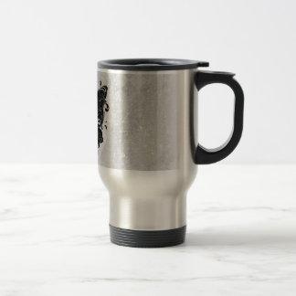 Mariposa de dos tonos taza de café