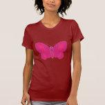 Mariposa de encaje 6 camiseta