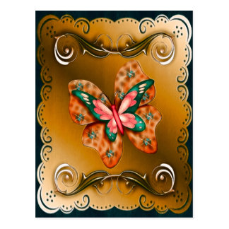 Mariposa de Flutterings confinada Tarjetas Postales