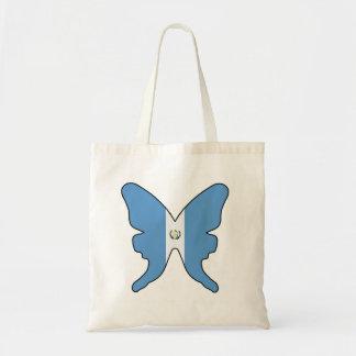 Mariposa de Guatemala Bolsa Tela Barata