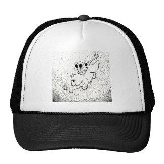 Mariposa de hadas del gato W Gorras