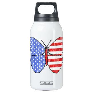 Mariposa de la bandera americana (vintage)
