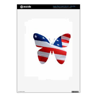 mariposa de la bandera iPad 3 skins