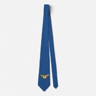 Mariposa de la cola del trago corbata personalizada