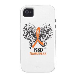 Mariposa de la conciencia de RSD Vibe iPhone 4 Funda
