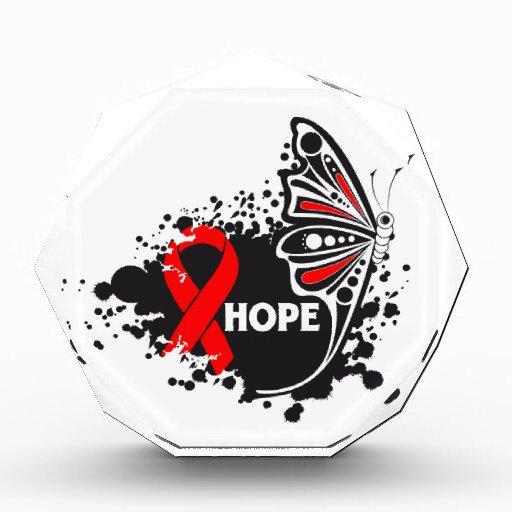 Mariposa de la enfermedad cardíaca de la esperanza