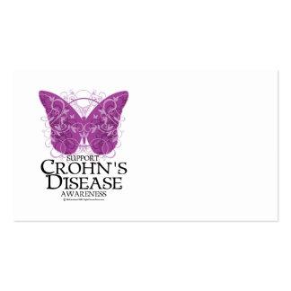 Mariposa de la enfermedad de Crohn Tarjeta De Negocio