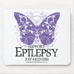 Mariposa de la epilepsia tapetes de ratón