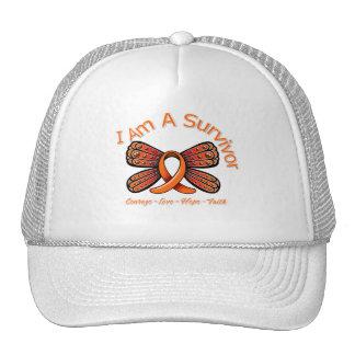 Mariposa de la esclerosis múltiple soy un superviv gorras