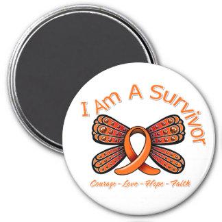 Mariposa de la esclerosis múltiple soy un superviv imanes