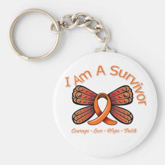 Mariposa de la esclerosis múltiple soy un superviv llavero