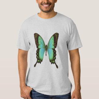 Mariposa de la Esmeralda-swallowtail, camiseta Poleras