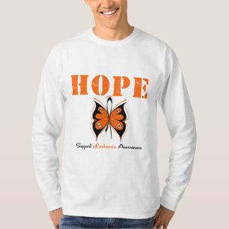 Mariposa de la esperanza de la leucemia playera