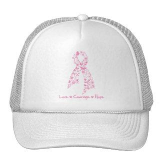 Mariposa de la esperanza del valor del amor - cánc gorras