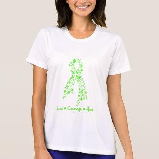 Mariposa de la esperanza del valor del amor - camiseta