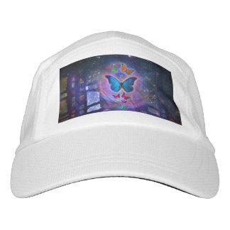 Mariposa de la fantasía gorra de alto rendimiento