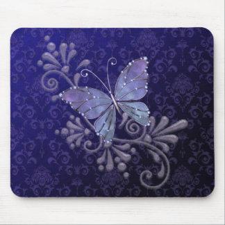 Mariposa de la joya mousepad
