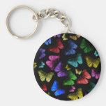 Mariposa de la mariposa llavero personalizado