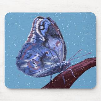 Mariposa de la nieve alfombrilla de ratones