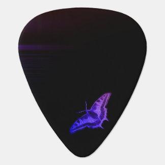 Mariposa de la pendiente plumilla de guitarra