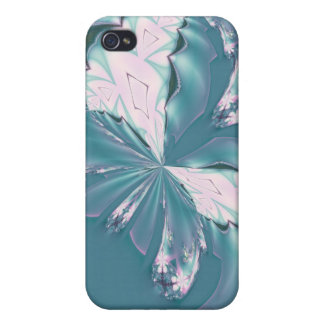 Mariposa de la primavera iPhone 4 carcasa