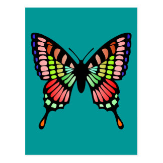 Mariposa de la prisma postal