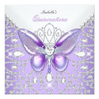 Mariposa de la púrpura de los diamantes de