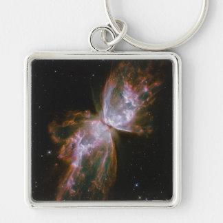 Mariposa de la supernova llaveros personalizados