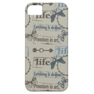 Mariposa de la vida iPhone 5 carcasas