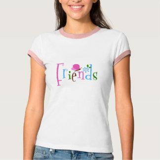 Mariposa de los amigos playera
