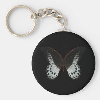 Mariposa de mármol de Swallowtail Llavero Personalizado