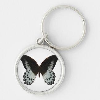 Mariposa de mármol de Swallowtail Llaveros Personalizados