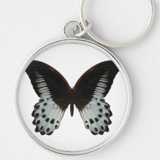 Mariposa de mármol de Swallowtail Llavero
