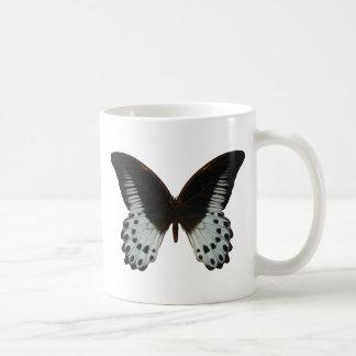 Mariposa de mármol de Swallowtail Taza Clásica