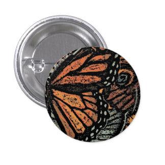 Mariposa de monarca abstracta pin