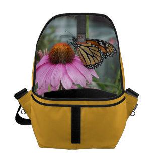 Mariposa de monarca bolsa de mensajeria