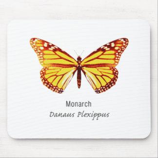 Mariposa de monarca con nombre tapetes de ratón