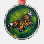 Mariposa de monarca del tigre de las creaciones de ornamentos de reyes