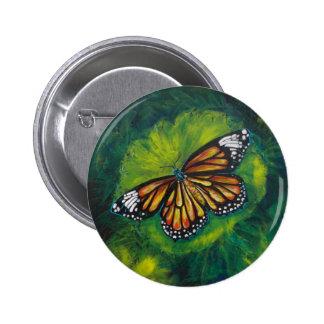 Mariposa de monarca del tigre de las creaciones de pin