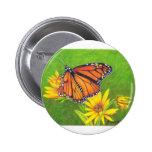 mariposa de monarca en las flores pins