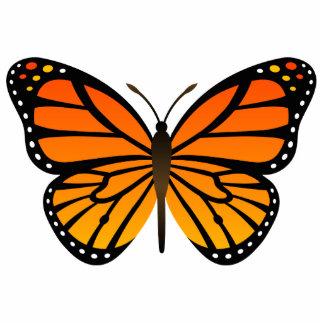 Mariposa de monarca esculturas fotograficas