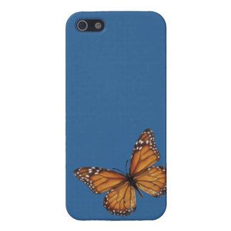 Mariposa de monarca iPhone 5 carcasas