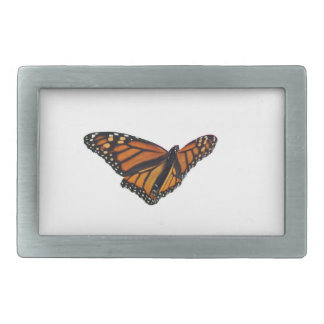 Mariposa de monarca hebillas de cinturón rectangulares