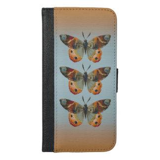 Mariposa de monarca hermosa con colores del otoño