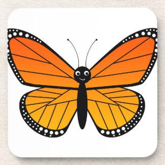 Mariposa de monarca linda posavasos
