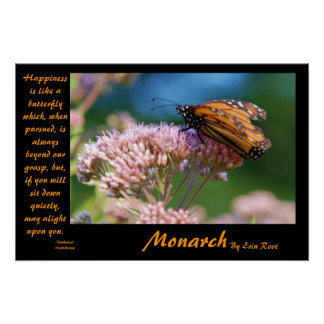 Mariposa de monarca posters