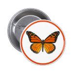 Mariposa de monarca pin