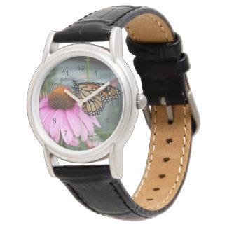 Mariposa de monarca relojes