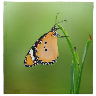 Mariposa de monarca servilleta