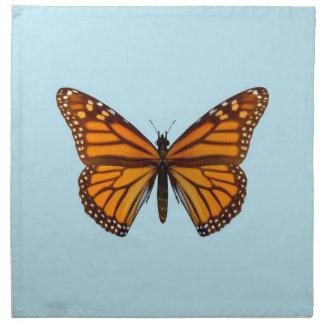 Mariposa de monarca servilleta de papel